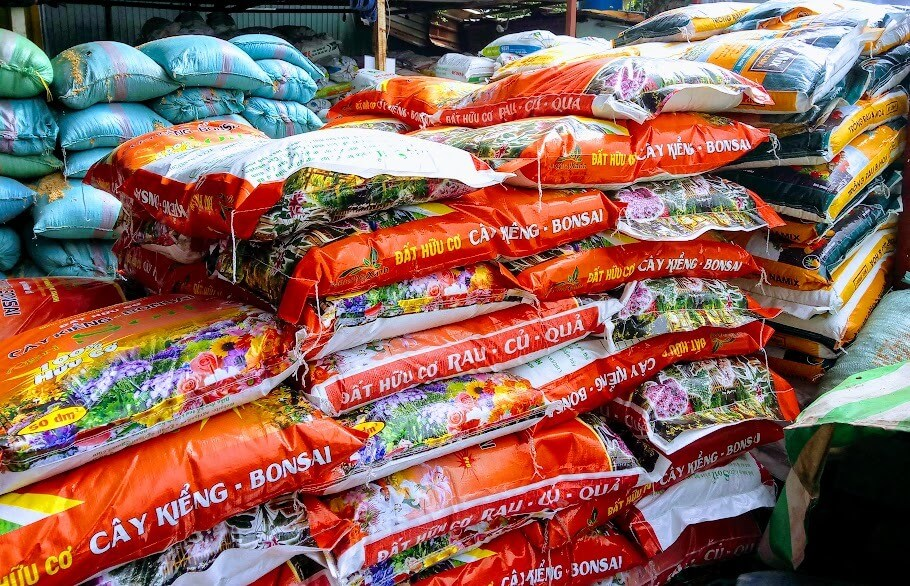 Đất sạch trồng Bonsai