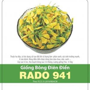 Giống Bông Điên Điển RADO 941 2