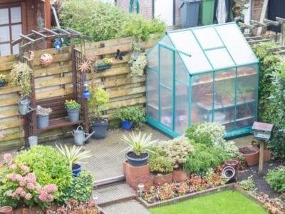 Nhà kính mini trồng rau